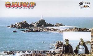 GJ6UW/P QSL card