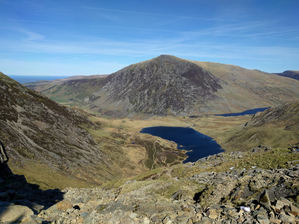 View from Y Garn