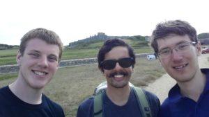 Photo of the crew exploring Alderney.